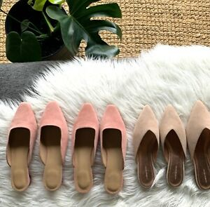 COUNTRY ROAD : SZ SZ 41 brianna mule leather rose pink 10 [CR LOVE]