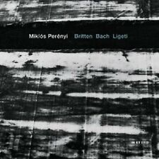 Miklos Perenyi-Britten Bach Ligeti CD NUOVO