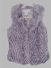 Ladies Faux Fur sleeveless vest size M