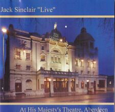 """Jack Sinclair - Live at His Majesty's Theatre Aberdeen CD """"Live"""""""