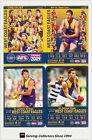 2009 AFL Teamcoach Trading Card Base Team set West Coast (12)