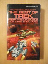 The Best of Trek Walter Irwin (Ed) 1st Signet Pb 1978, 1st Canadian Edition
