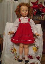 Vintage Patti Playpal Ideal strawberry blonde Curly Hair 1959-1960 G-35 beautifu