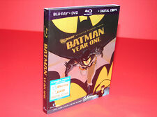 Batman: Year One (Blu-ray/DVD, 2011, 2-Disc Set) + Slip Cover  ***BRAND NEW***