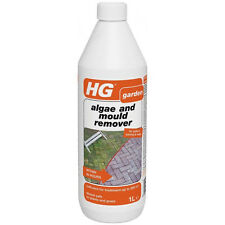 HG Garden Moss Algae and Mould Remover Cleaner Killer 1 Litre- Patio Paving Wall