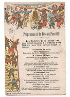 Programa de la Fiesta Del Padre 300 (i 9036)