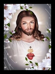 SACRED HEAR OF JESUS CHRIST picture framed