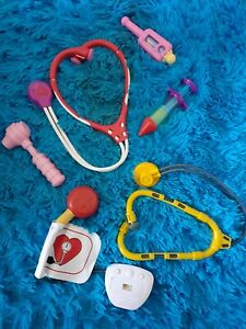 Kid's Pretend Play Doctor Dr. Lot Of 6 toys