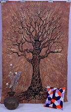 Tree of Life Hippie Tapestry Bohemian Wall Hanging Bedspread Twin Ethnic Bedding