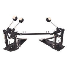 Drum Pedal Double Kick Bass Dual Foot Kick Pedal Percussion Single Chain Drive