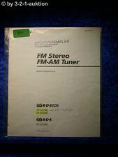 Sony Bedienungsanleitung ST SE700 / SE500 / SE300 FM/AM Tuner  (#0056)