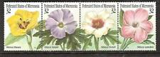 MICRONESIA ISLANDS # 228 MNH FLOWERS HIBISCUS FLORA, Strip of Four
