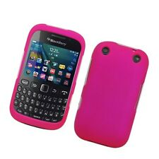 For BlackBerry Curve 9310 9320 Rubberized HARD Case Snap On Phone Cover Hot Pink