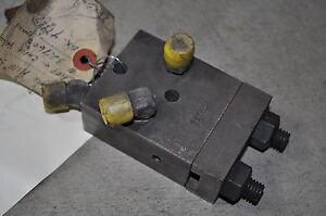 Bullard Machine VTL Dynatrol Relief and Check Valve  PN#- 327606
