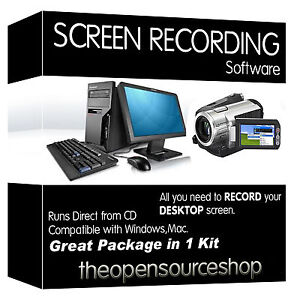 Professional Screen Recording Software Package – Learn How To Screen Capture