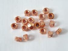 10 Stück Auspuff Mutter Kupfermutter M10 - SW 14 DIN 14441  Thermag geschlitzt