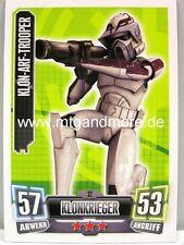 Force Attax Serie 2 Klon-Arf-Trooper #032