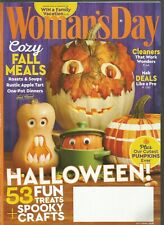 Woman's Day October 2018 Cozy Fall Meals/Halloween/Cleaners that work