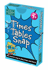 BrainBox Snap + Pairs Card Games - Maths Fractions Times Tables Words - KS1 KS2