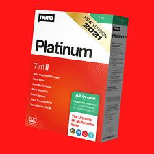 New Nero Platinum Suite Latest Version 2021
