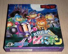 Nintendo Virtual Boy Tobidase Panibon Panic Bomber Japan NEW F/S