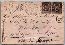 GP GOLDPATH: FRANCE COVER 1900 REGISTERED LETTER _CV691_P06