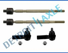 All (4) New Inner & Outer Tie Rod Ends for 2007-2013 Suzuki SX4