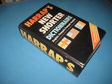 Dictionnaire Anglais-Français Harrap's New Shorter 1982