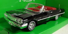 Nex models 1/24 Scale 22434W 1963 Chevrolet Impala Convertible Diecast model car