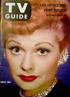 TV Guide 1958 Lucille Ball I Love Lucy Desi Arnaz #276 Elvis Presley VG/EX COA
