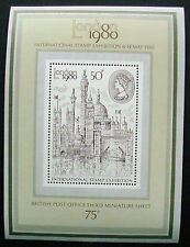GREAT BRITAIN 1980: INTERNATIONAL STAMP EX POST OFFICE THIRD M/S