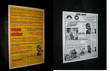 Original EASY RIDER B Review Style + Press PETER FONDA DENNIS HOPPER Near Mint