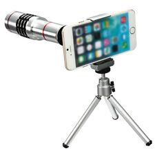 18X Teleobjektiv Teleskop-Zoom-Kamera Lens & Stativ für iPhone/Samsung Handys.