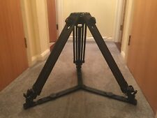 Vinten carbon fibre tripod legs. 100mm bowl with fast lock legs and + spreader