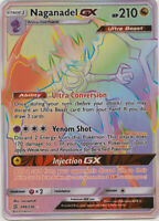 1x - Naganadel GX - 249/236 - Secret Rare NM Pokemon Unified Minds
