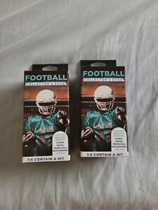 SET OF 2 Fairfield NFL Football Cards Collector's Edge Box Sealed 1:4 Hit