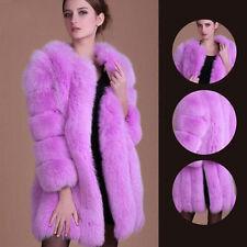 heiße Frauen-Dame-Winter-langes warmes starkes Parka Faux-Pelz-Jacken-Mantel