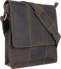 UNICORN Bolsa de cuero genuino - iPad, Tablet accesorios Bolsa - Marrón #5E