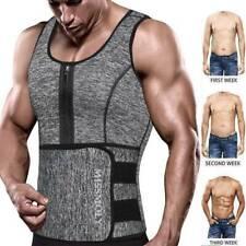 Sauna Suit Sweat Vest Tank Tops Neoprene Thermo Shirt Body Shaper Waist Trainer