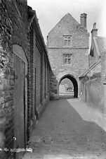 1910s SANDWICH The Fisher Gate Antique Photographic Glass Negative (Kent)