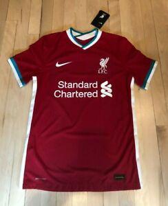 Nike Liverpool FC Vaporknit 2020-21 Match Jersey Home CZ2625 687 SMALL ($165)