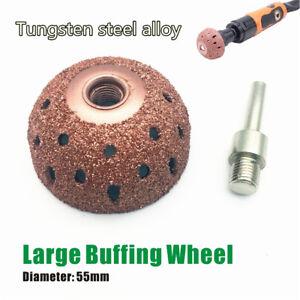 Buffing Wheel Tungsten Carbide Rasp / Contour Cup Professional Tire Repair Tool