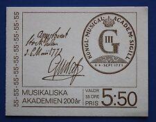 Sweden (891a) 1971 Kongl Music Academy MNH booklet