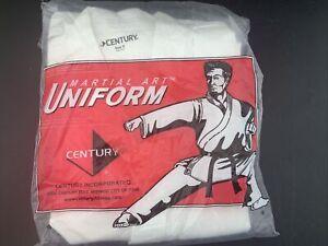Century White  Martial Arts Uniform Size 0