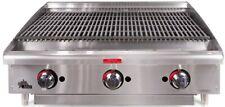 3 Ft Gas Charbroiler Star Mfg 6036cbf 36 Countertop Lava Rock120000 Btu