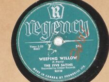 The Five Satins Wonderful Girl / Weeping Willow