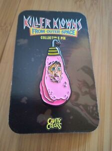 Cavity Colors Killer Klowns From Outer Space Cotton Candy Cocoon Enamel Pin