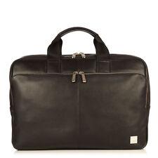 Knomo Newbury Briefcase for 15-inch Laptop - Black