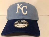 Kansas City Royals KC Strapback Adjustable Hat Dad Cap New Era MLB 9TWENTY NWT