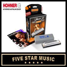 Hohner Special 20 Harmonica 'F Sharp' Key - NEW!!! 560F# Harp G Flat Gb